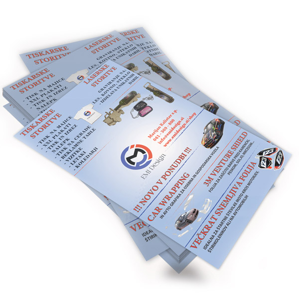 Flyer A4 double sided