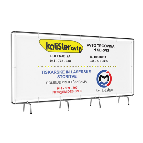 Tarpaulins single sided